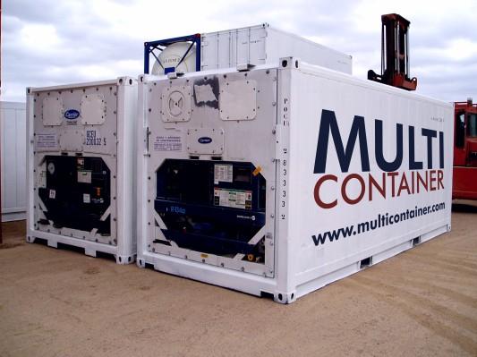 Contenedor refrigerado usado